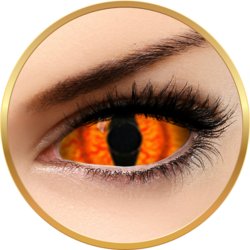 Fantaisie Sclera Shadowcat - lentile de contact Crazy pentru Halloween anuale - 365 purtari (2 lentile/cutie)