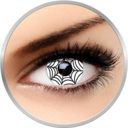 Fantaisie Spider - lentile de contact Crazy pentru Halloween anuale - 365 purtari (2 lentile/cutie)
