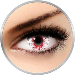 Fantaisie Splash Blood - lentile de contact Crazy pentru Halloween anuale - 365 purtari (2 lentile/cutie)