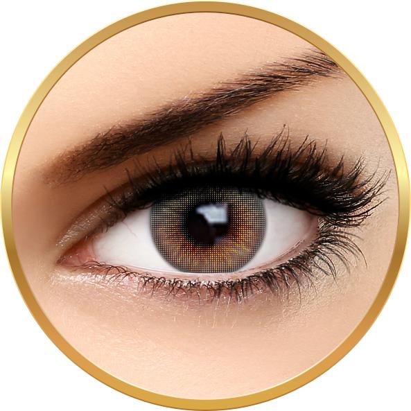Auva Vision Fashion Lentilles Mood Gray - lentile de contact pentru Halloween anuale - 365 purtari (2 lentile/cutie)
