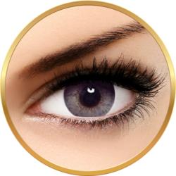 Bella Elite Collection Grey Beige - lentile de contact colorate gri trimestriale - 90 purtari (2 lentile/cutie)