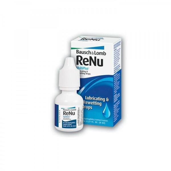 Bausch & Lomb Picaturi oftalmologice Renu Lubricating & Rewetting Drops 8ml