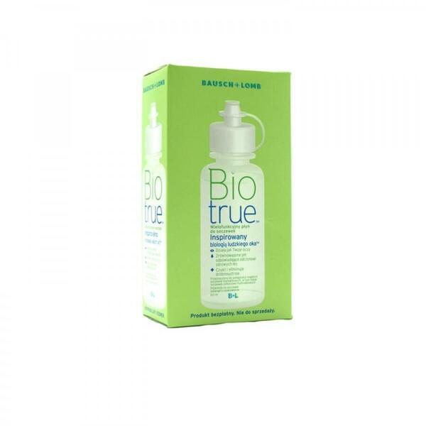 Bausch & Lomb Solutie intretinere lentile de contact Biotrue 120 ml + suport lentile cadou