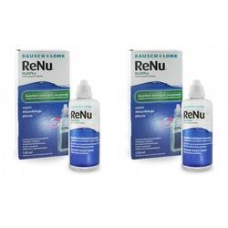 Solutie intretinere lentile de contact Renu Multi-Purpose 2 x 120 ml + suport lentile cadou