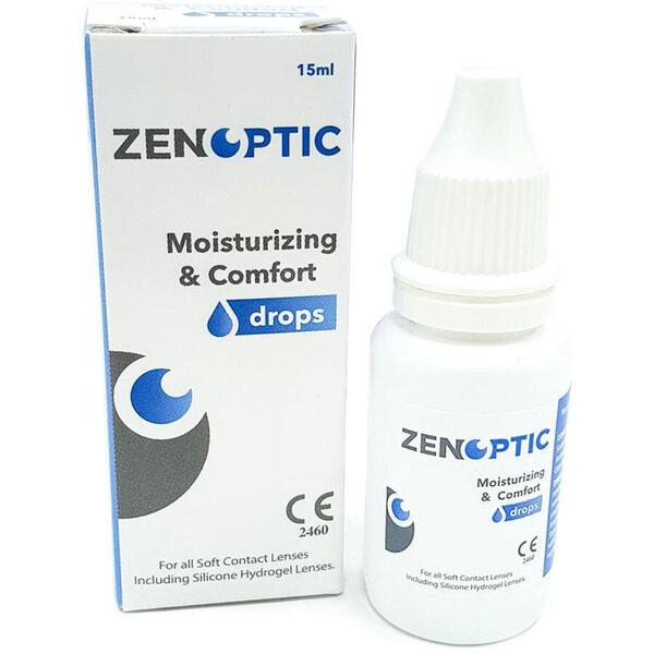 Picaturi oftalmologice ZENOPTIC Moisturizing & Comfort Drops 15 ml