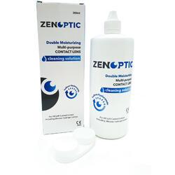 Solutie de curatare si intretinere lentile de contact ZENOPTIC Double Moisturizing 360 ml